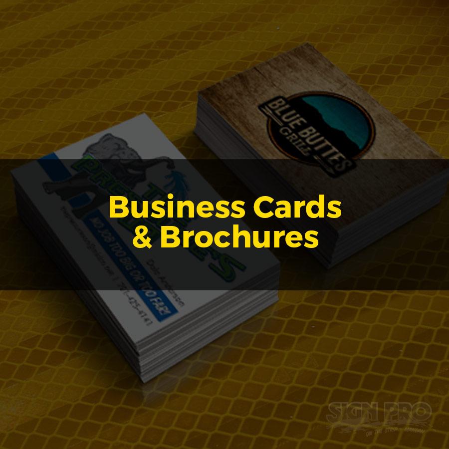 Business Cards Brochures Bismarck Mandan Sign Pro